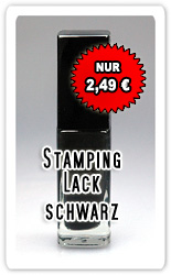 Stamping Lack schwarz