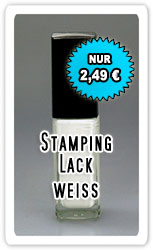 Stamping-Lack weiss